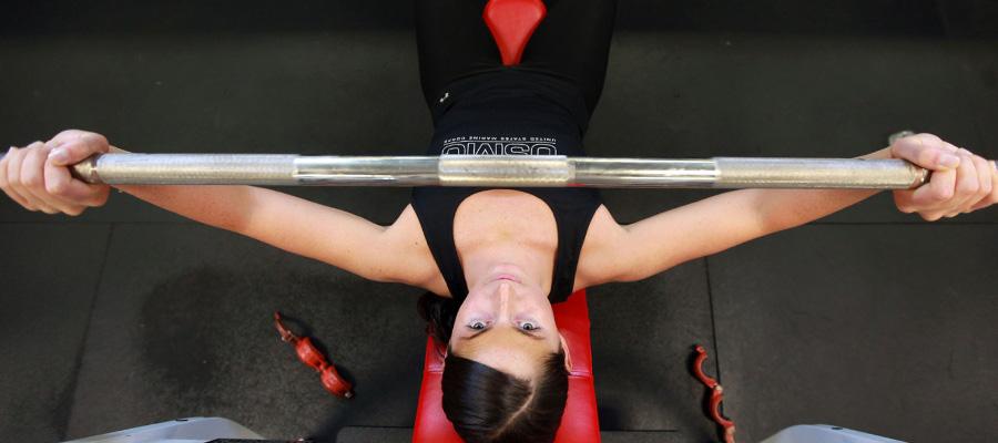 Entrenamiento de pesas para las mujeres
