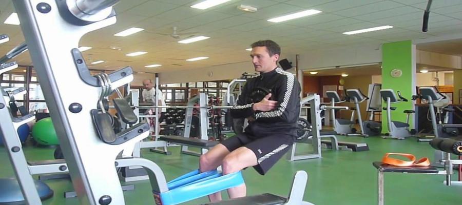 Prevención de lesiones. Entrenamiento con tirante musculador