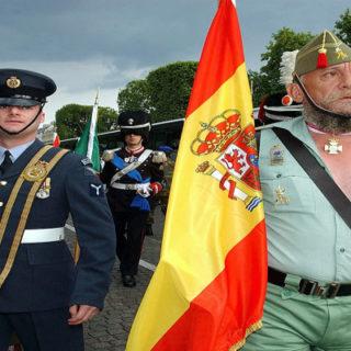 La Legión Española se pone a regimen
