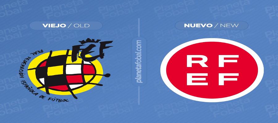 El nuevo logo de la RFEF